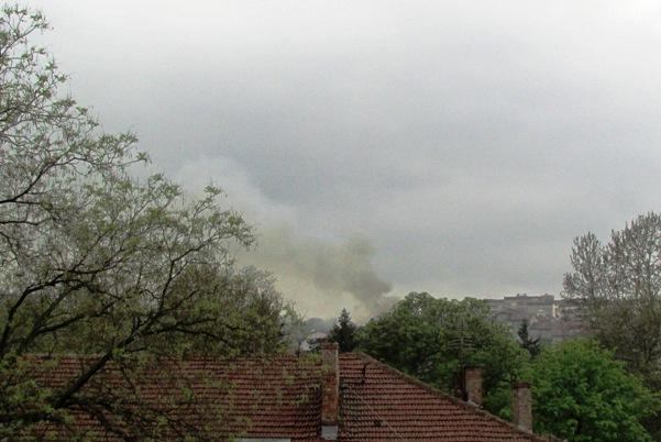 дим от пожар