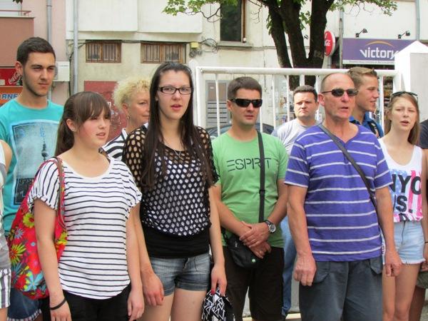 езикова гимназия - гости Литва