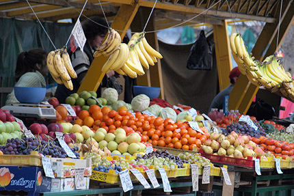 пазар зеленчуци