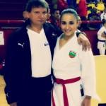 Бронз за Националния женски отбор на Балканското първенство по карате в Охрид