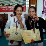 """18 медала за състезателите на """"Спартак"""" от карате турнир """"Шисейкан"""""""