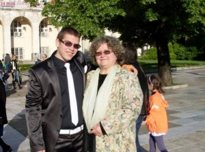 Никола Ботев и майка му