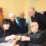 Поздравления от Германия, САЩ и Общината получи столетникът Гено Донев