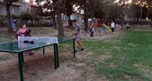 спортна площадка Червен бряг