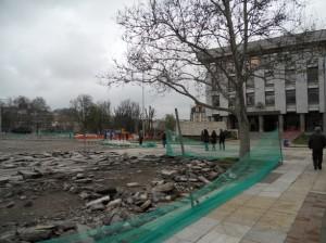 ремонт на площада