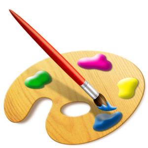 палитра за рисуване
