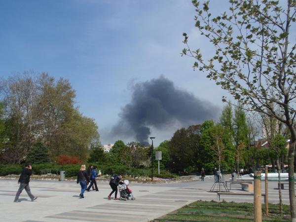 дим пожар