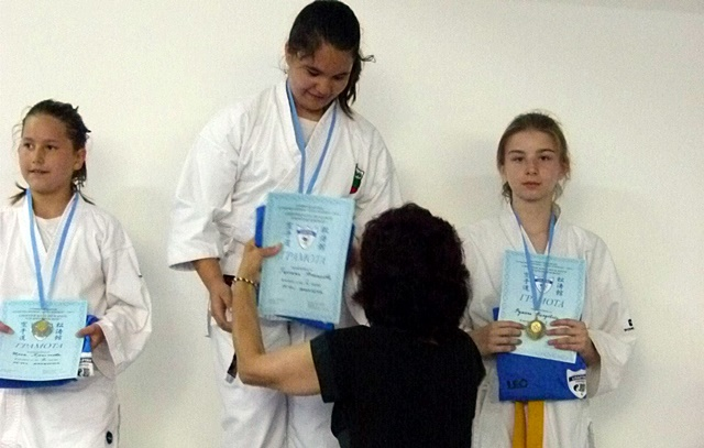 Класиране 10-11 г. момичета