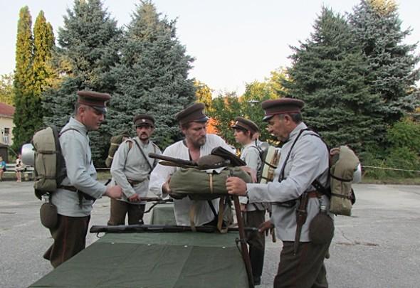 IMG_2311възстановка IV-ти пехотен