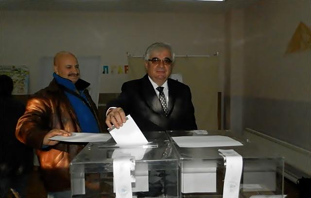 Димитър Стойков гласуване