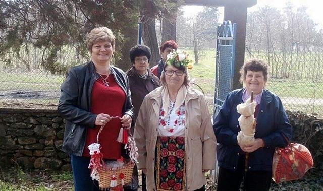 Баба Марта в село Асеновци