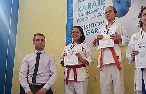 Гергана Атанасова - 2 място ката