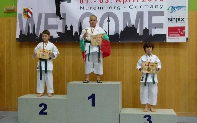 Тихомир Тодоров- Европейски шампион деца- ката