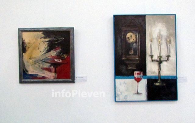 изложба Убавка и Костика