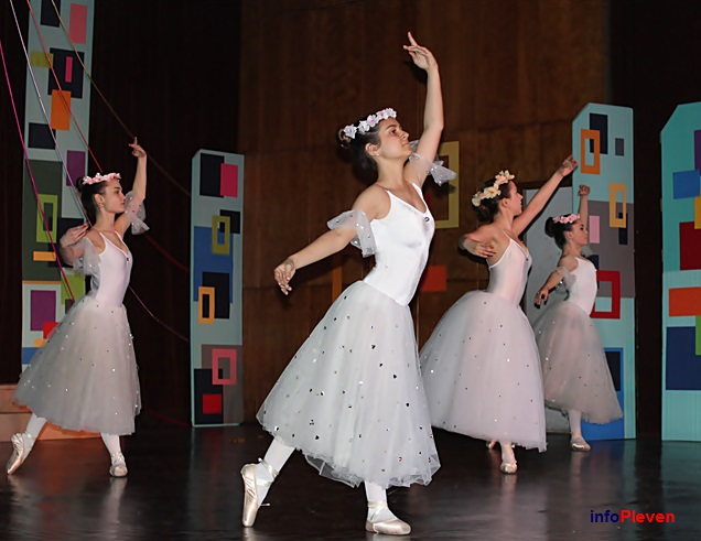 068балет приказка за танци