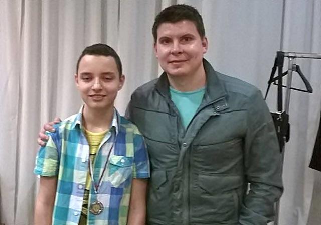 12968759_Калоян Попвасилев - вицешампион на България до 14 години за 2016