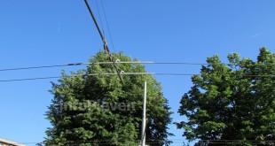 контактна мрежа тролеи