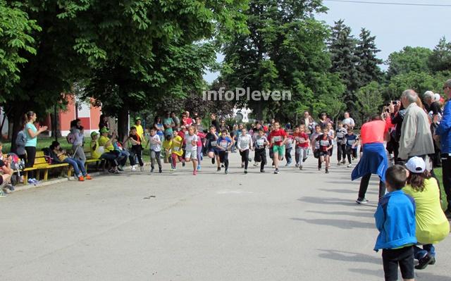 маратон приятелство Плевен деца 3
