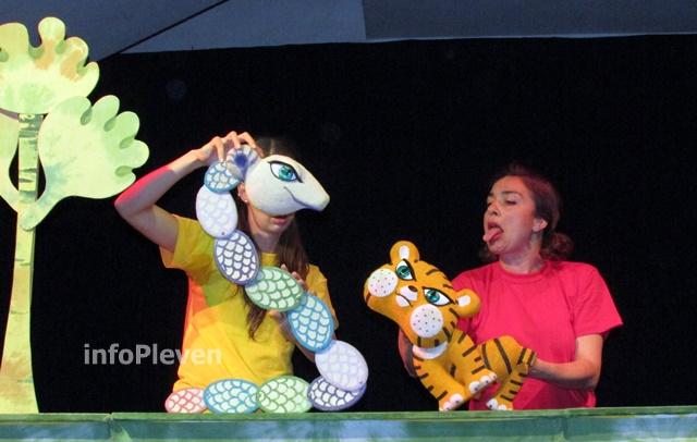 Тигърчето Спас и малкото голямо слонче 5
