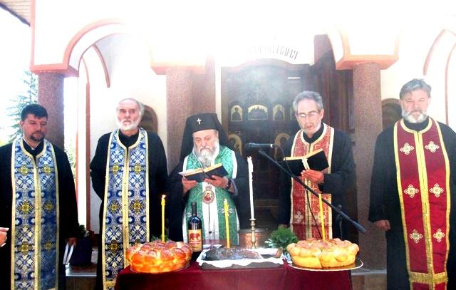свещеници параклис Бохот